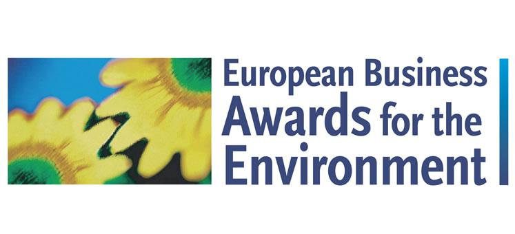 Banner European Business Awards for the Environment